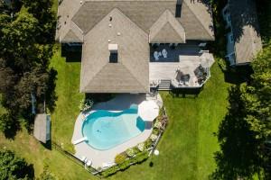 Pool Aerial 279 North Shore